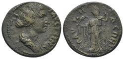 Ancient Coins - Lydia, Blaundus. Faustina Junior. Augusta, 147-175 AD. AE 20mm (4.91 gm). BMC 78