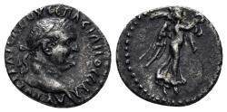 Ancient Coins - Cappadocia, Caesarea-Eusebia. Vespasian. 69-79 AD. AR Hemidrachm (1.69 gm, 14mm). Sydenham 94