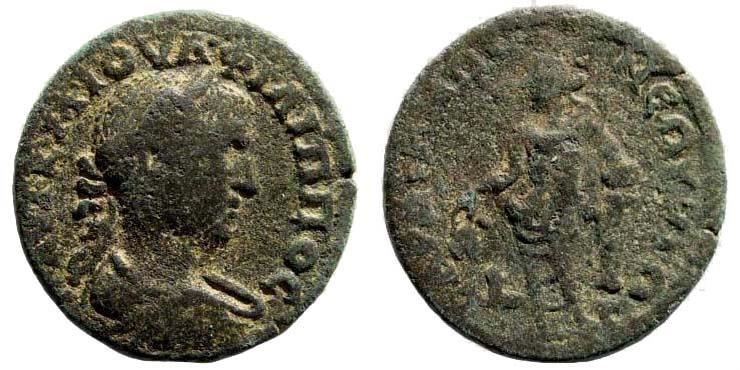 Ancient Coins - Lydia, Sardeis. Philip I, 244-249 AD. AE 23mm (6.33 gm). BMC 199