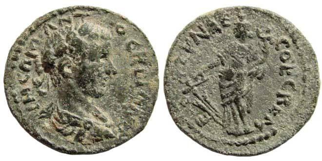 Ancient Coins - Pisidia, Cremna. Gordian III. 238-244 AD. AE 20mm (4.37 gm). Hans von Aulock, Pisidia II, 1378