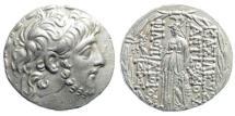 Ancient Coins - Seleucid Kingdom. Antiochos IX Eusebes Philopator (Kyzikenos). 114/3-95 BC. AR Tetradrachm. SC 2363a