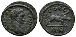 Ancient Coins - Ionia, Ephesos. Caracalla, 197-217 AD. AE 18mm (2.84 gm). BMC 87, 280; SNG München 167