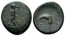 Ancient Coins - Pisidia, Etenna. 1st century AD. AE 18mm (3.74 gm). Hans von Aulock, Pisidien, 516-27