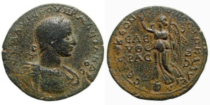 Ancient Coins - Cilicia, Seleucia ad Calycadnum. Severus Alexander. 222-235 AD. AE 34mm (19.80 gm, 1h). SNG Levante 755 (this coin); SNG France 995 var. (reverse legend)