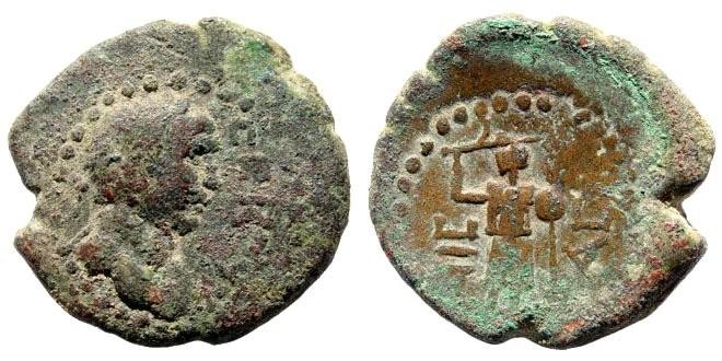 Ancient Coins - Judaea, Ascalon. Trajan. 98-117 AD. AE 21mm (6.17 gm). 107-108 AD. SNG ANS 6, 704