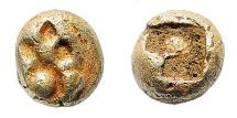 Ancient Coins - Ionia, Uncertain. Circa 600-550 BC. EL 1/24 Stater (0.55 gm, 5.5mm). CNG 67, lot 711