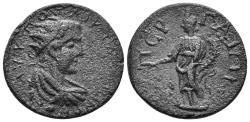 Ancient Coins - Pamphylia, Perge. Gallienus. 253-268 AD. AE 23mm (7.19 gm). SNG PfPs 434 (same dies)