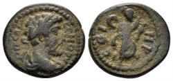 Ancient Coins - Mysia, Parium. Commodus. 177-192 AD. AE 17mm (3.47 gm). Struck 188-190 AD. RPC IV.2, 8466