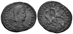 Ancient Coins - Constantius II. 324-361 AD. AE1 (5.76 gm, 24.5mm). Alexandria mint. Struck 351-354 AD. LRBC 2836