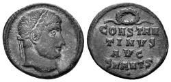 Ancient Coins - Constantine I the Great. 307-337 AD. AE Follis (2.09 gm, 18mm). Antioch mint. Struck 324-325 AD