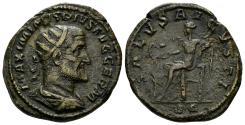 Ancient Coins - Maximinus I. 235-238 AD. AE Dupondius (11.78 gm, 26mm). Rome mint. RIC 86