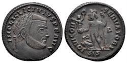Ancient Coins - Licinius I. 308-324 AD. AE Follis (3.38 gm, 21mm). Siscia mint. Struck 313-315 AD. RIC 8