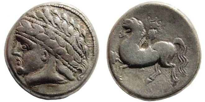 Ancient Coins - Celtic, Central Europe. West Noricum. Circa 2nd century BC. AR Tetradrachm (12.24 gm, 12h). Kugelreiter type. Lanz 112