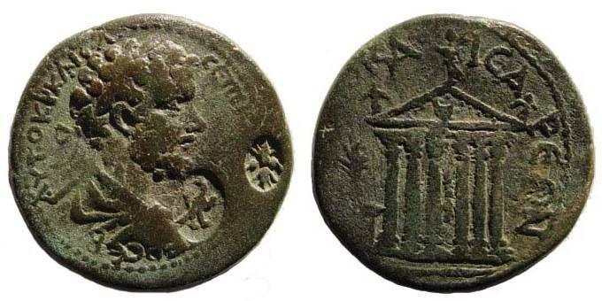 Ancient Coins - Cilicia, Diocaesarea, Septimius Severus, AE 29.23 mm