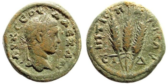 Ancient Coins - Cappadocia, Caesarea. Severus Alexander, 222-235 AD. AE 21mm (6.5 gm). Struck, 225 AD. Sydenham 558; BMC 309