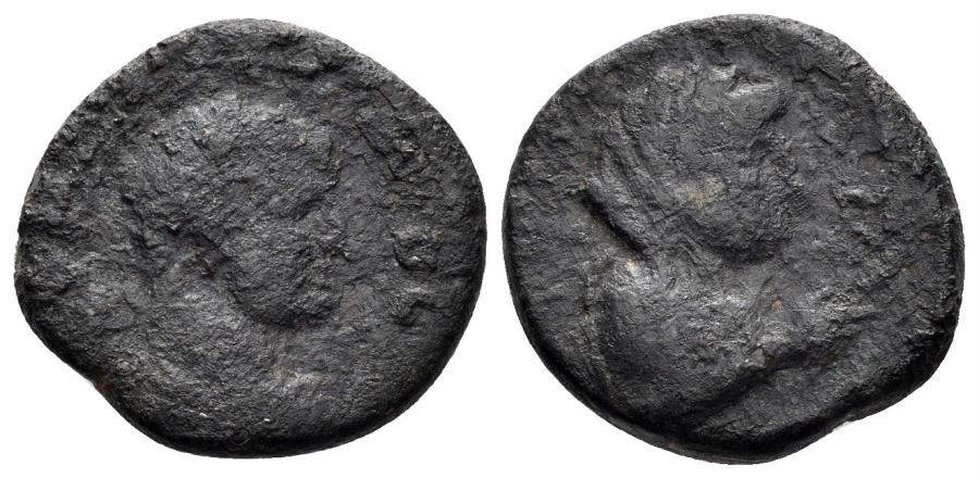 Ancient Coins - Decapolis, Philadelphia. Hadrian. 117-138 AD. AE 18mm (5.63 gm). RPC 4096
