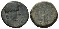 Ancient Coins - Phrygia, Eumeneia. Tiberius. 14-37 AD. AE 16 mm (3.94 gm). RPC I 3147