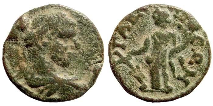 Ancient Coins - Syria, Seleukis and Pieria. Gabala. Elagabalus, 218-222 AD. AE 21mm (5.90 gm). SNG Copenhagen 317; Lindgren I 2056