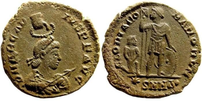 Ancient Coins - Arcadius. 383-408 AD. AE2 (4.80 gm, 23mm). Nicomedia mint. 378-408 AD. RIC 26/7