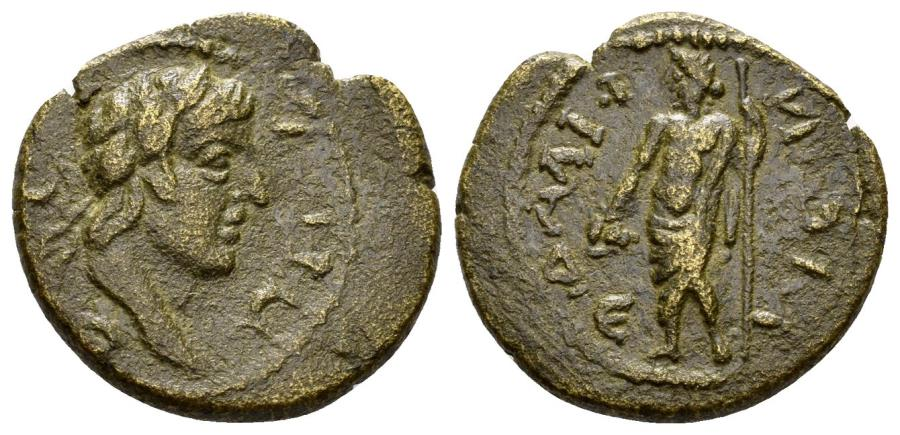 Ancient Coins - Lydia, Philadelphia. Time of the Antonines. 138-192 AD. AE 19mm (4.33 gm). RPC Online 9950. Rare