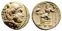 Ancient Coins - Macedonian Kingdom. Alexander III 'the Great', 336-323 BC. AR Tetradrachm (16.87 gm, 25mm). Ake-Ptolemais mint. Struck 313/312 BC. Price 3287