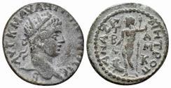 Ancient Coins - Kilikia, Anazarbos, Elagabalus. 218-222 AD. AE 20mm (5.45 gm). Ziegler, Anazarbos 366 (Vs 3/ Rs 8)