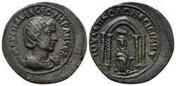 Ancient Coins - Mesopotamia, Nisibis. Otacilia Severa. Augusta, 244-249 AD. AE 25mm (9.21 gm). BMC 27-32