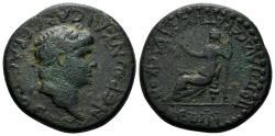Ancient Coins - Lycaonia, Claudiconium (Iconium). Nero, 54-68 AD. AE 26mm (11.68 gm). RPC I, 3544