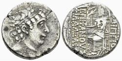 Ancient Coins - Seleukid Kingdom. Philip I Philadelphos. Circa. 95-75 BC. AR Tetradrachm (15.37 gm, 25mm). SC 2488.2