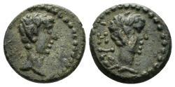 Ancient Coins - Mysia, Cyzicus. Caius & Lucius(?). Caesars, 20 BC-AD 4 and 17 BC-AD 2. AE 13mm (2.17 gm). RPC I 2246
