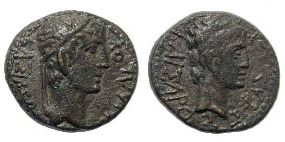 Ancient Coins - Thracian Kings, Rhoemetalces I, 11 BC-12 AD, AE 19.3 mm (4.61 gm.). SNG Copenhagen 1193