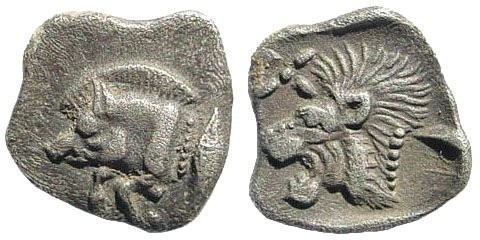 Ancient Coins - Mysia, Kyzikos, Circa. 510-475 BC, AR (0.36 gm, 10mm). SNG France 375