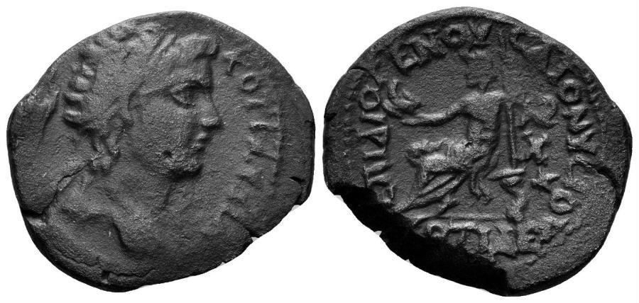 Ancient Coins - Phrygia, Kotiaeon. Time of Valerian and Gallienus, 253-268 AD. AE 26mm (7.45 gm). SNG von Aulock 3776 (same obverse die)