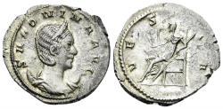Ancient Coins - Salonina, Augusta. 254-268 AD. AR Antoninianus (3.50 gm, 23mm). Köln mint. Struck 257-260 AD. MIR 900c