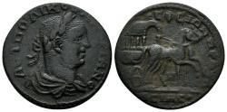 Ancient Coins - Ionia, Ephesus. Valerian I. 253-260 AD. AE 26mm (7.99 gm). BMC pg. 103, 369 var.