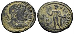 Ancient Coins - Licinius I, 308-324 AD. AE Follis (2.96 gm, 20mm). Rome mint, 314-5 AD. RIC VII 30