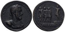 "World Coins - 19th Century or earlier AE Cast ""Sestertius"" (29.90 gm, 34mm). ""Paduan"" medal. Macrinus"