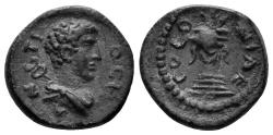 Ancient Coins - Pisidia, Antiocheia. Circa 1st-3rd centuries AD. AE 15mm (2.19 gm). SNG von Aulock 8559
