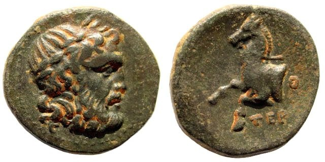 Ancient Coins - Pisidia, Termessos. 2nd -1st century BC. AE 20mm (5.50 gm). SNG France 2140