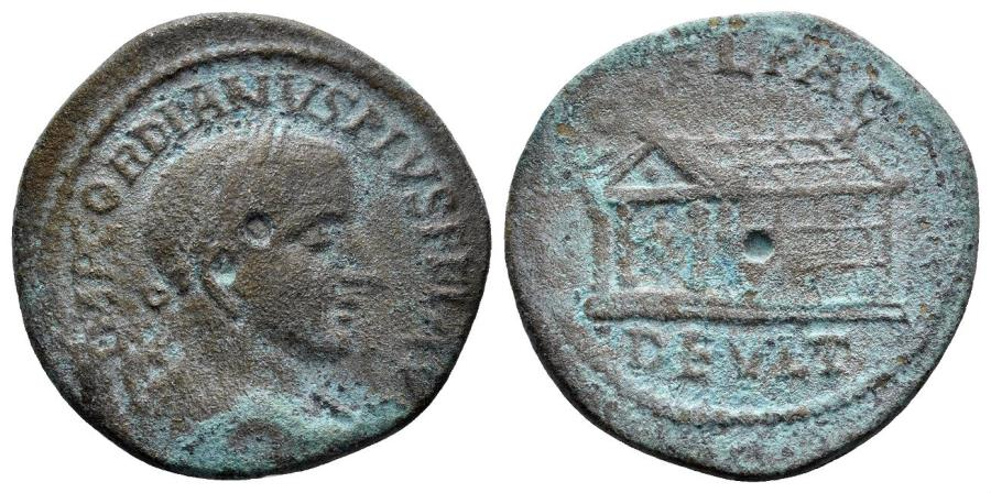Ancient Coins - Thrace, Deultum. Gordian III. 238-244 AD. AE 23mm (6.77 gm). Varbanov 2817