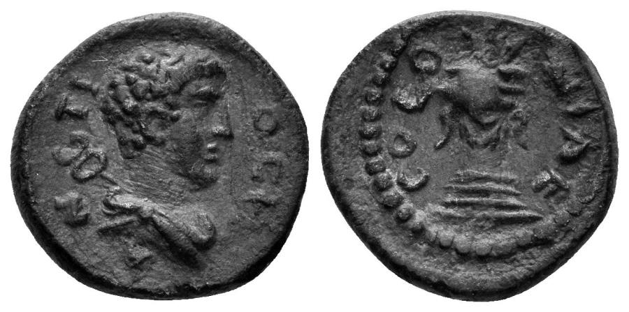 Ancient Coins - Pisidia, Antiocheia. Circa 1st-3rd centuries AD. AE 15mm (2.19 gm). SNG von Aulock 8559