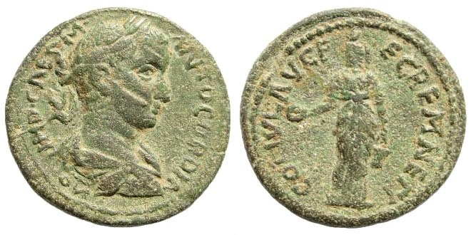 Ancient Coins - Pisidia, Kremna. Gordian III. 238-244 AD. AE 25mm (9.66 gm). Hans von Aulock, Pisidia II, 1357 (same dies). Isis