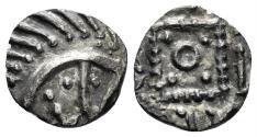 World Coins - Anglo-Saxon, Continental Sceattas. Circa 710/5-730/50. AR Sceatt (0.77 gm, 12mm). Series E. SCBC 790D
