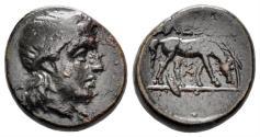 Ancient Coins - Troas, Alexandreia. Circa 261-246 BC. AE 15mm (4.21 gm). Bellinger A29