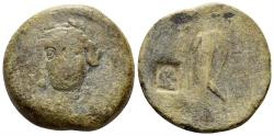 Ancient Coins - Seleukid Kingdom. Antiochos III 'the Great'. 222-187 BC. AE 27mm (16.47 gm). c/m: SC (Vol. II) p. 56, 44-5