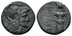 Ancient Coins - Mysia, Pergamon. Circa 2nd Century BC. AE 17mm (5.43 gm). SNG von Aulock 1374; SNG France 1884