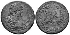 Ancient Coins - Pontos, Amaseia. Caracalla 198-217 AD. AE 30mm (13.87 gm). Dated CY 209 (207 AD). Rec Gen 77 var.