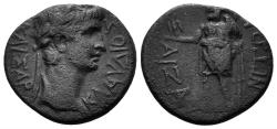 Ancient Coins - Phrygia, Aizanis. Claudius, 41-54 AD. AE 19mm (3.68 gm). Circa 50-54 AD. RPC I 3100