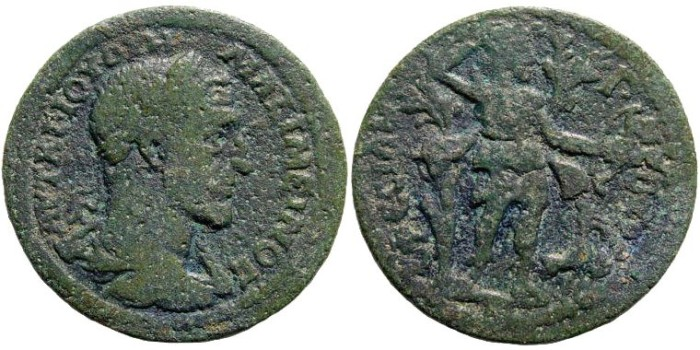 Ancient Coins - Ionia, Ephesus. Maximinus I Thrax. 235 – 238 AD. AE 30mm (13.53 gm). Apparently unpublished