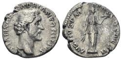 Ancient Coins - Antoninus Pius. 138-161 AD. AR Denarius (3.15 gm, 17mm). Rome mint. Struck 138 AD. RIC III 12